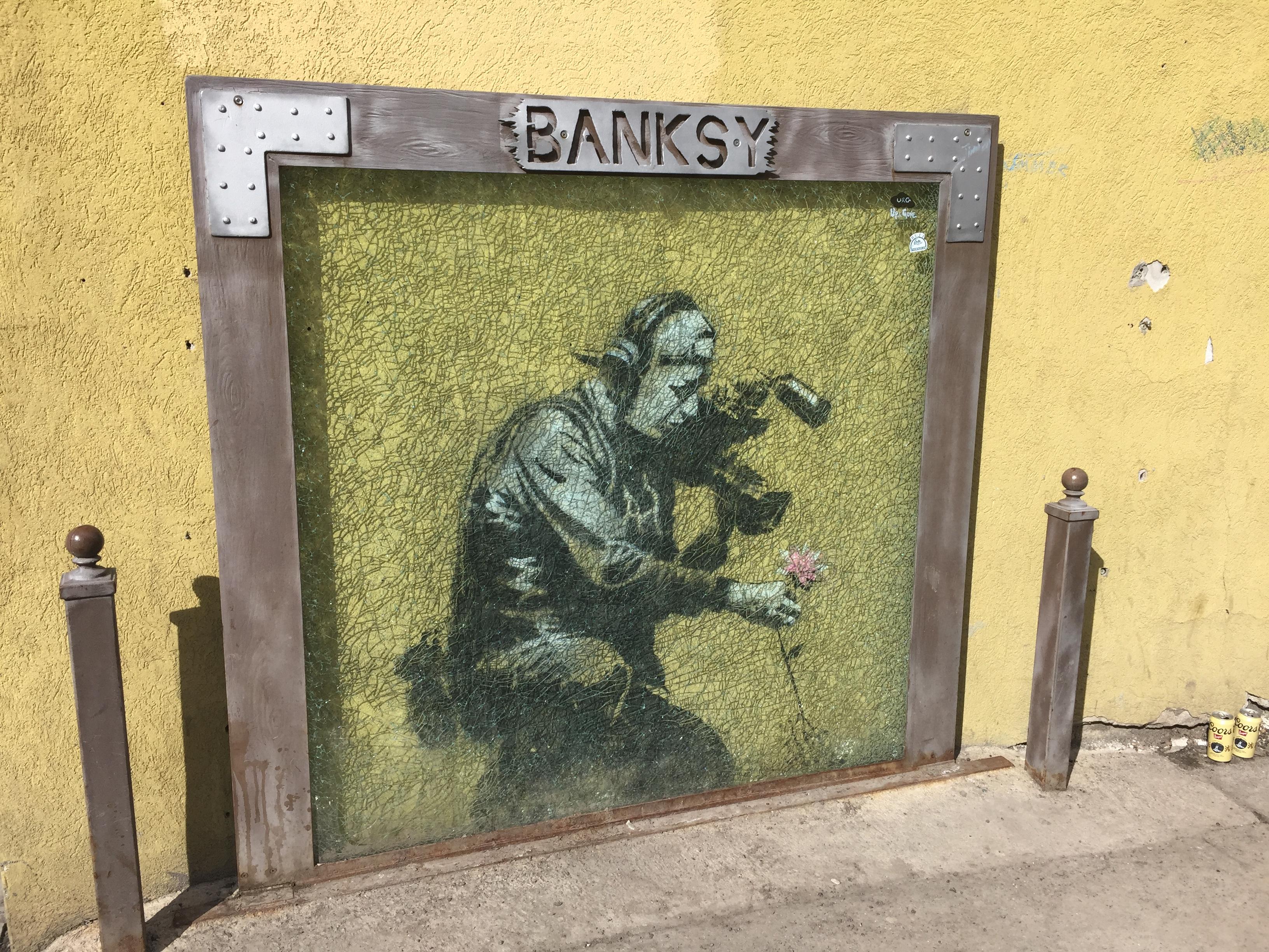 Banksy Art In Park City Utah Free Range Explorer